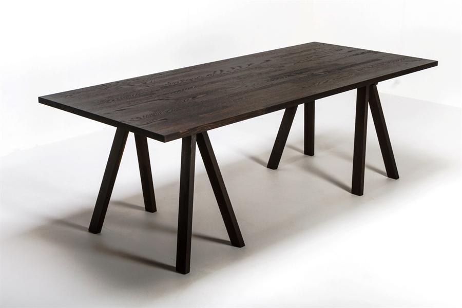 Modernistisk Fingers Spisebord Sort eg 90x200cm - Fingers 90x200cm DQ-45