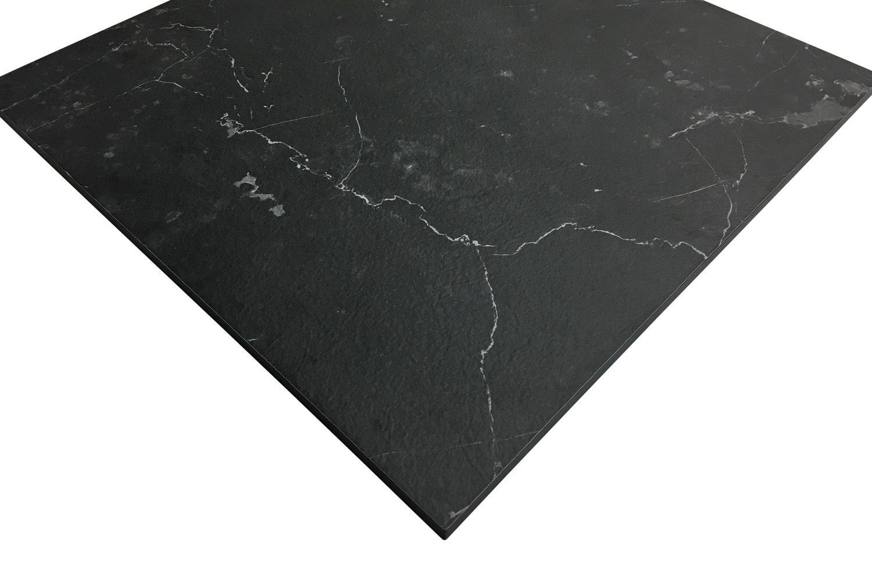 Picture of: Sort Marmor Kompaktlaminat Bordplade Dfi 433 Sort Marble