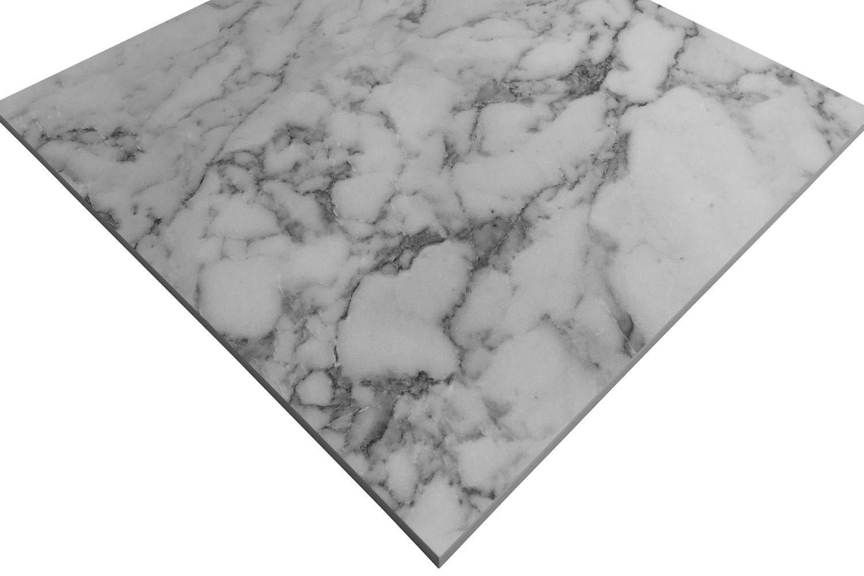 Picture of: Marmor Kompaktlaminat Bordplade S63009 Cm Carrara Marble