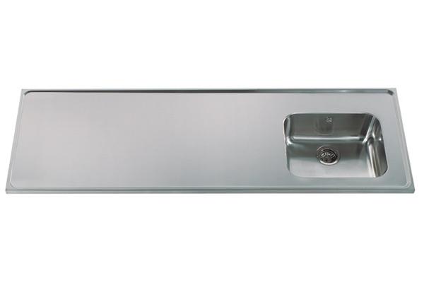 Opdateret Stålbordplader   Billige køkkenbordplader i rustfrit stål LB12