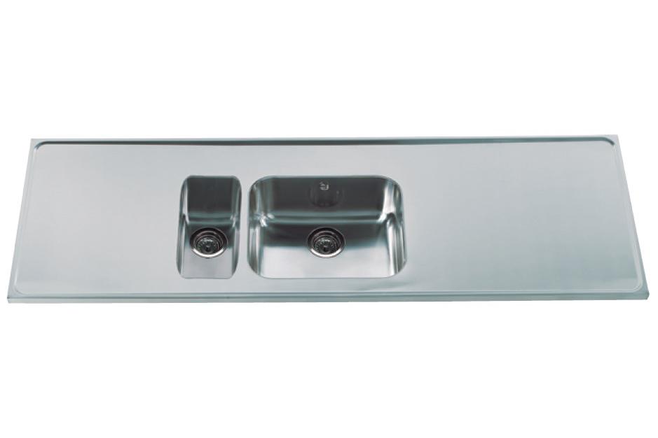 Avanceret Stålbordplader   Billige køkkenbordplader i rustfrit stål HT11