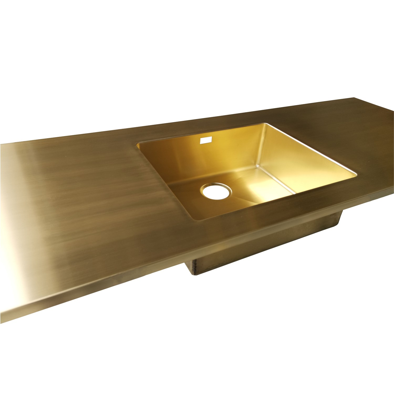 Picture of: Messing Bordplade Eksklusive Bordplader I Messing Pa Mal